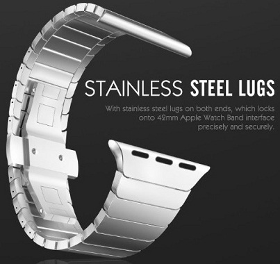 Vitech Stainless Steel Replacement Smart Watch Band