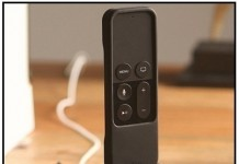 low Profile Siri remote charging stand