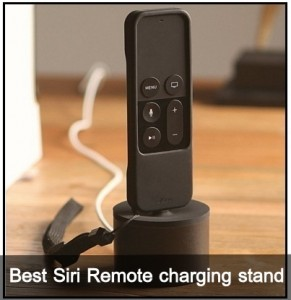 Best Siri Remote charging stand dock