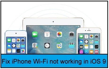 fix Wi-Fi problems in iOS 9