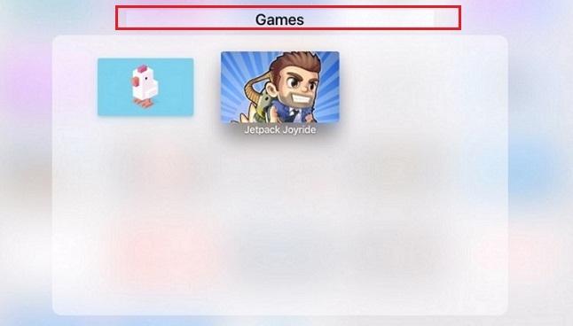 Make a Folder on Apple TV 4: tvOS 9.2