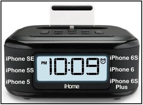 Best iPhone SE Charging Speaker Dock with alarm 2016