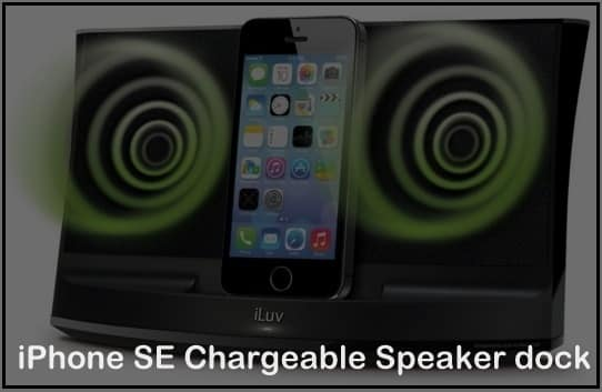 good iPhone SE Chargeable Speaker dock