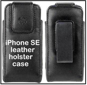 iPhone SE leather holster belt case 2016