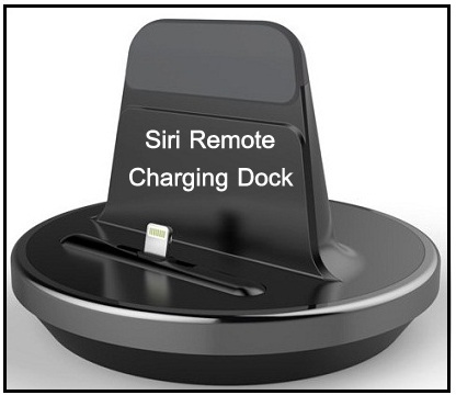 charging dock for Apple TV 4 Siri remote