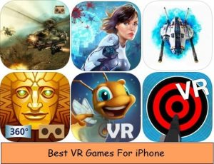 Best VR Games for iPhone Xr, iPhone Xs Max, Xs – Virtual Reality iOS Games
