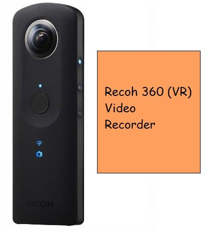 360 Video recorder cameras for VR video