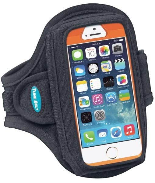 iPhone SE armband with zipper