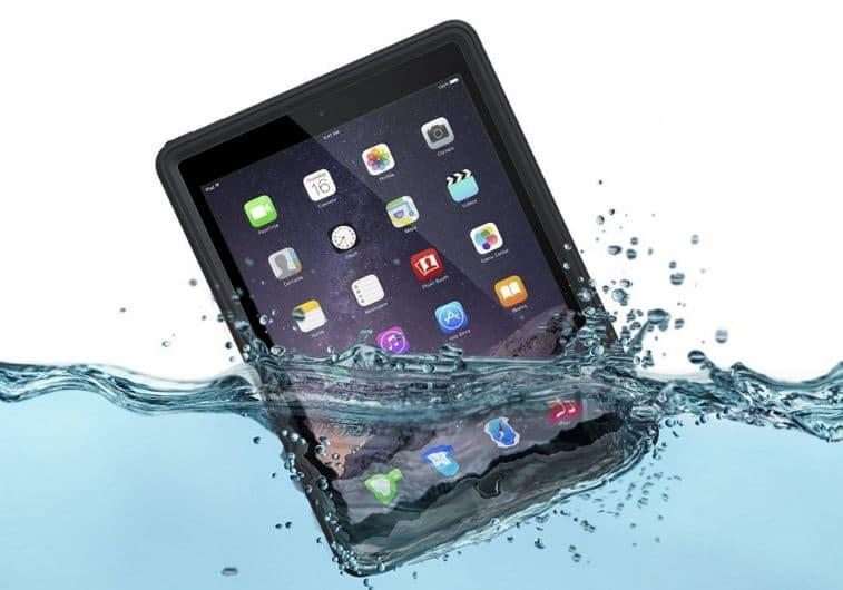 Waterproof and water resistance iPad pro 9.7 inch case