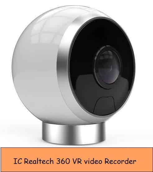 IC Realtech Virtual Reality recorder