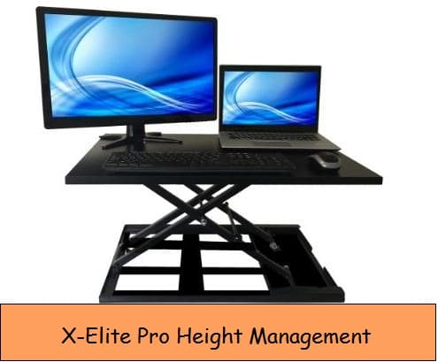Height adjustable stand for devices