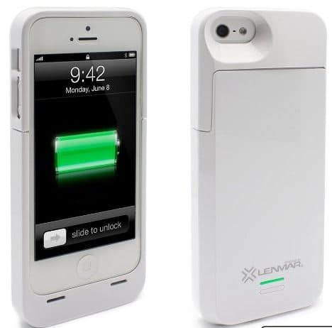 Rechargeable iPhone SE battery cases