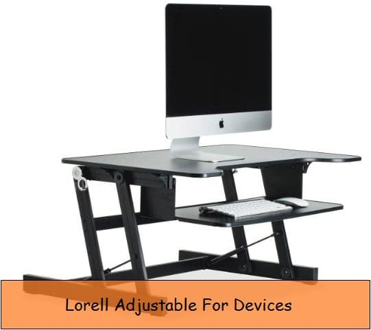 Portable Height adjustable desk