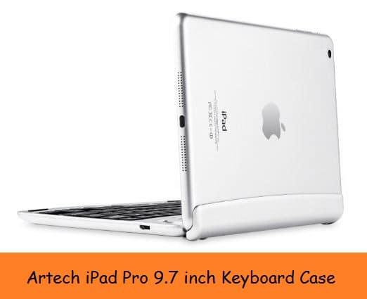 Hinges iPad Pro keyboard case 9.7 inch