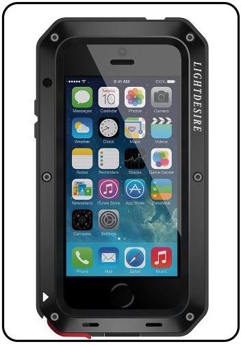 5 LIGHTDESIRE iPhone SE Military case