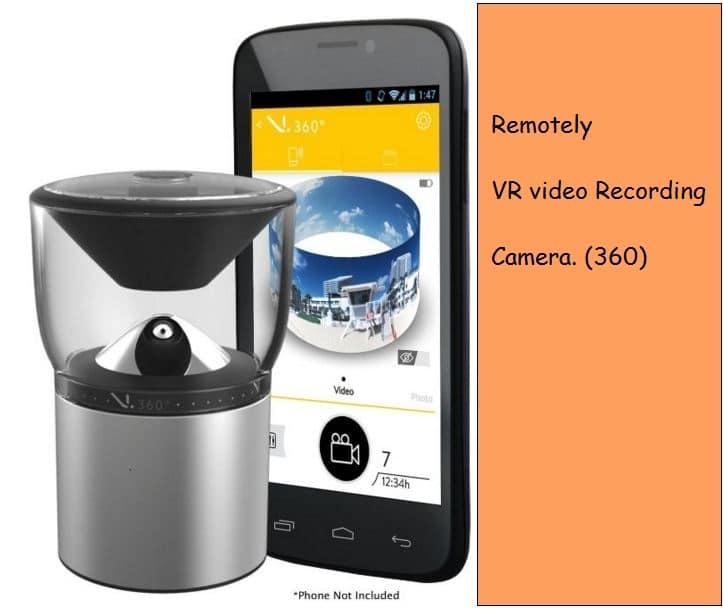 3D video recorder camera