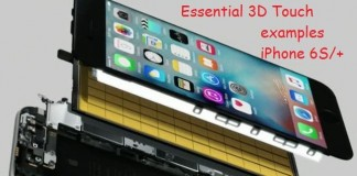 Essential 3D Touch examples for iPhone 6S and 6S Plus users