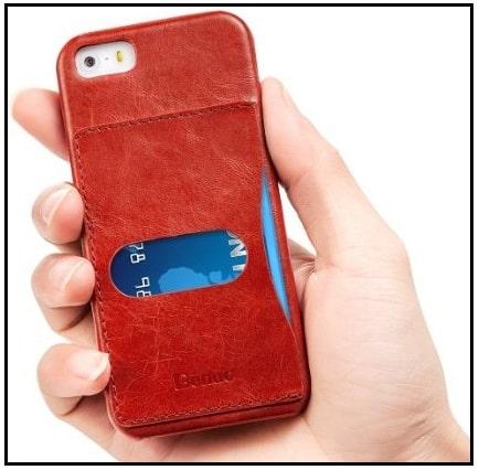 1 card holder case for iPhone SE