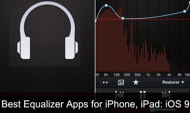 Best Equalizer apps for iPhone, iPad IOS 9, iOS 10