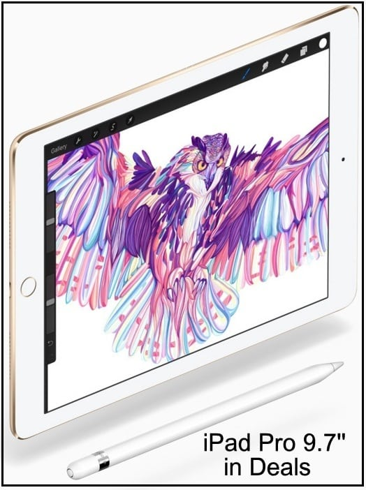 Apple pencil support iPad Pro 9.7inch in deals black Friday 2016