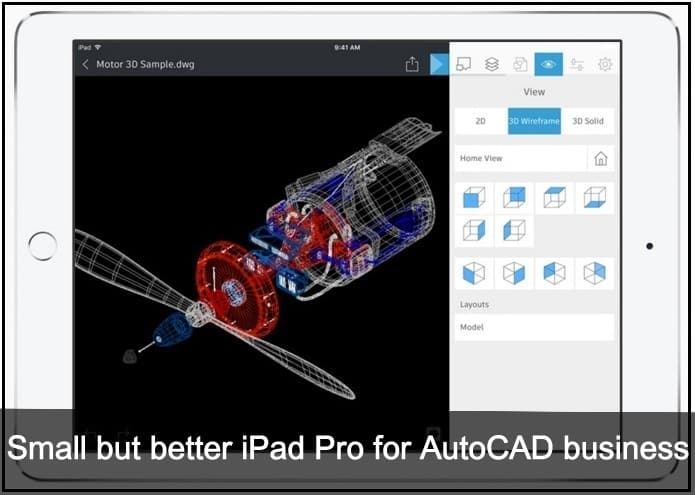iPad Pro 9.7inch 2016 deals Must have tool for AutoCAD Operator