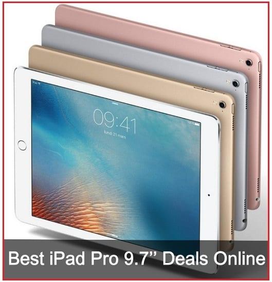 Best iPad Pro 9.7'' Deals Online USA 2016