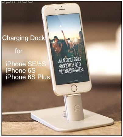 Best iPhone SE charging dock deals 2016