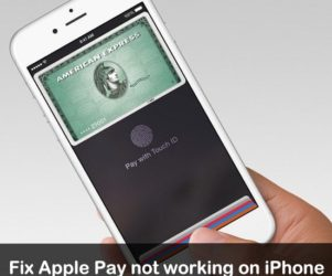 Apple Pay Not working on iPhone 6s, iPhone SE, iPhone 6S plus iOS 9, iOS 8