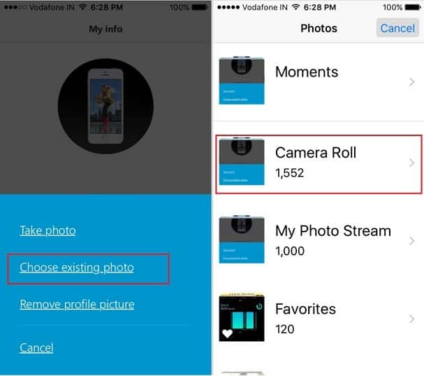 How to Remove/ Change Skype Profile Picture on iPhone, iPad: iOS