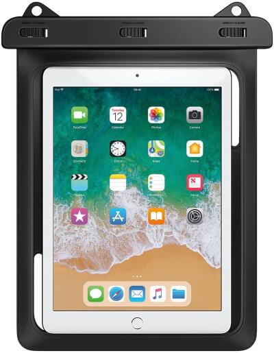 MoKo Waterproof Bag for Tablet Up to 10