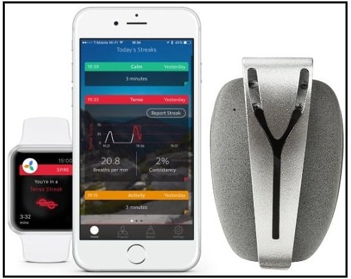 Spire Mindfulness & Activity Tracker for iOS 2016