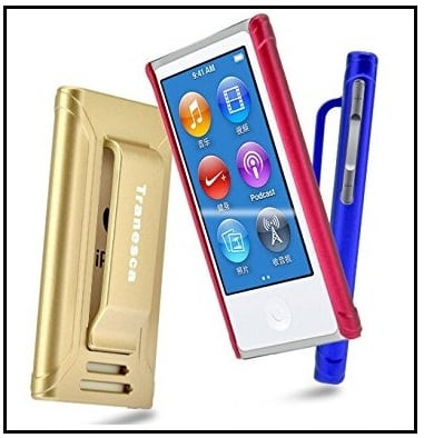 iPod Nano 7th Generation case with screen protector