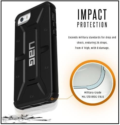 military drop case for iPhone SE good