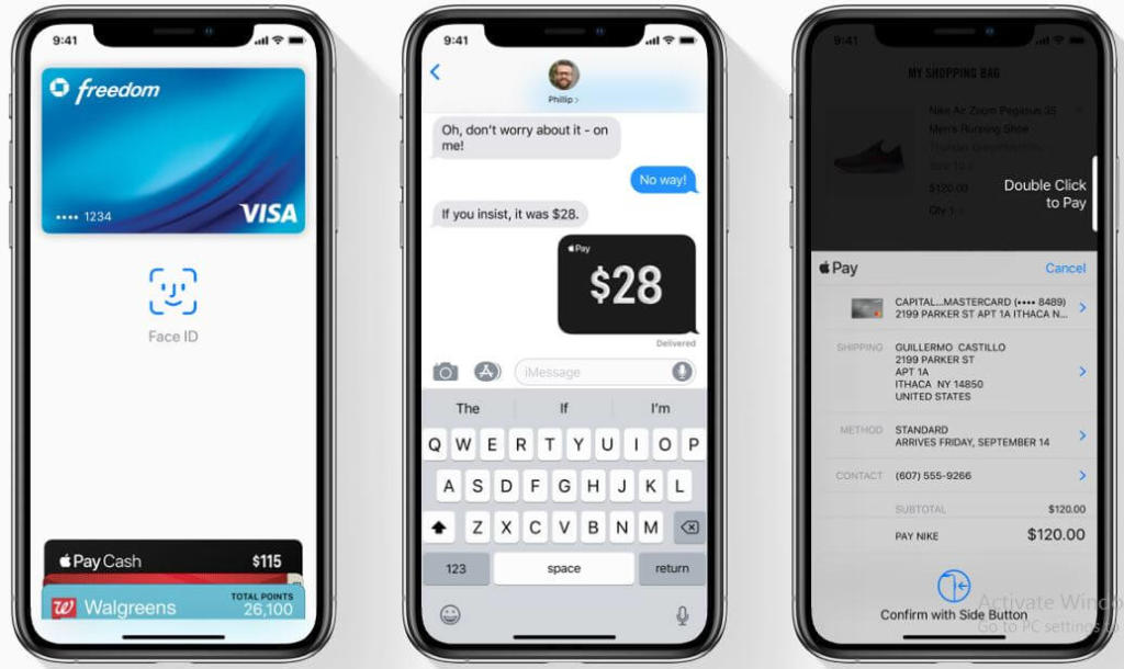Use of apple pay