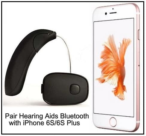 Pair Hearing Aids Bluetooth Device on iPhone