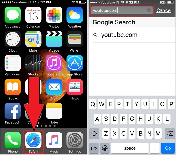 play youtube in background iphone how to play in background on iphone 2163