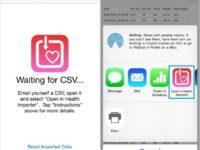 Restore/ Import health app data on iPhone, iPod