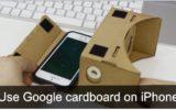 setup Google cardboard on iPhone