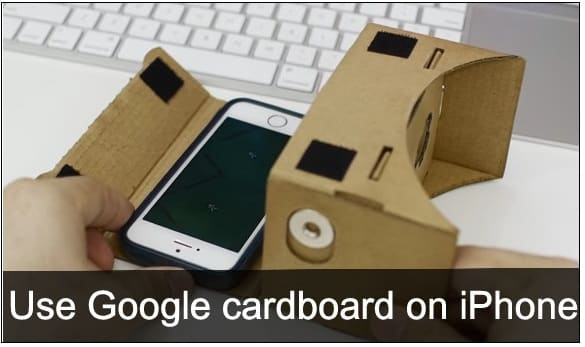 setup Google cardboard on iPhone