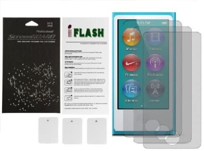 iFlash Suit-Military Grade Screen Protector for iPod Nano 7th Gen