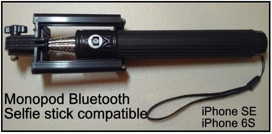 best Bluetooth Selfie stick compatible Apple and android