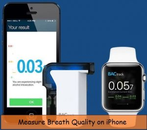 Measure breath on iPhone, iPad: Breathalyzer