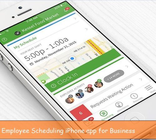 Employee Scheduling iPhone app for Business