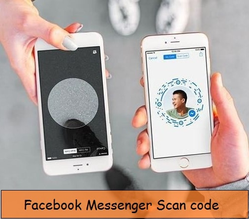 Start facebook chat using scan code from iPhone messenger