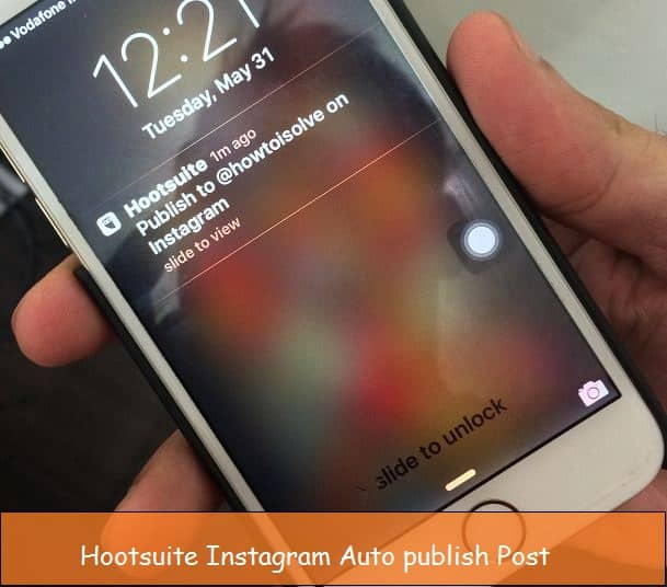 auto schedule post instagram from iPhone, iPad with iOS 9
