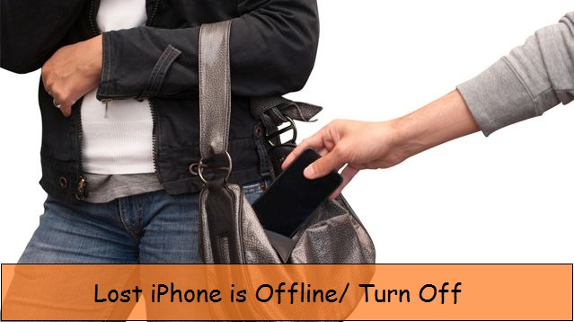 Lost iPhone is offline how to save data and device