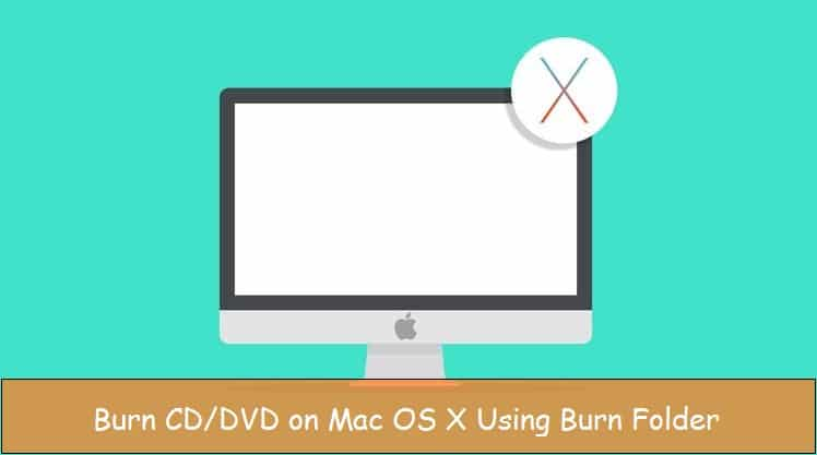 Make burn folder on OS X EI Capitan And Write CD or DVD