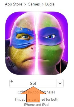 Get free app from iTunes app store
