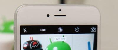 Turn off live photos on iPhone 6S, 6S Plus, iOS 9