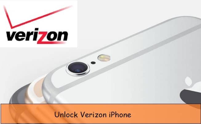 Unlock Verizon iPhone in USA